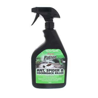 Ant Spider and Cockroach Killer Inside and Outside Ready To Use Amgrow 750ml
