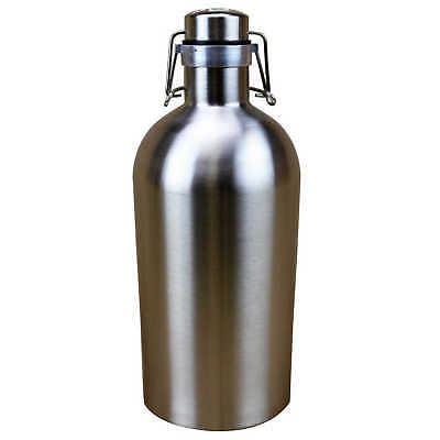 Ultimate Growler 2 Litre 304 STAINLESS STEEL Home Brew Brewing Mini Keg Tough
