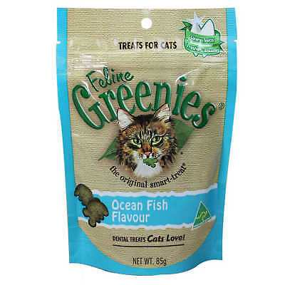 Greenies Feline Dental Treats Chicken Flavour for Cats Food 85g
