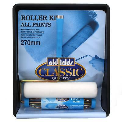 Paint Roller Kit All Paints 270mm Oldfields Frame Cover Premium Quality Pro