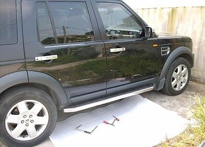 fit Land Rover Discovery LR3 LR4 2004-2016 running board side step Nerf bar