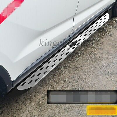 Fit for Chevrolet All New Equinox 2018 Running Board Side Step Nerf Bar trim