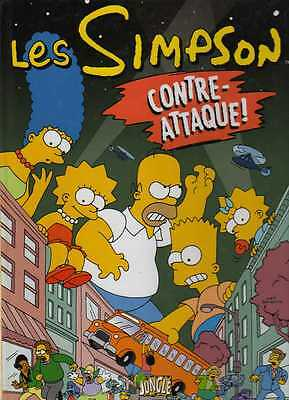 LES SIMPSON/..CONTRE-ATTAQUE./Edition Originale JUNGLE DE 2009.