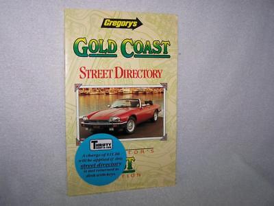 Gregory's Gold Coast Street Directory 1st Edition vintage 1988 Ampol sponsored