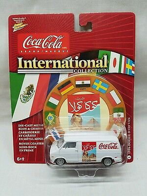 JOHNNY LIGHTNING Coca Cola INTERNATIONAL COLLECTION WHITE LIGHTNING