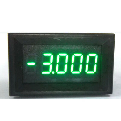 DC ±9.999A 10A Digital Ammeter LED AMP Meter Charge-discharge Monitor Shunt