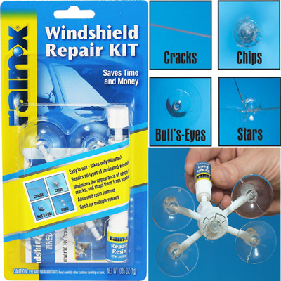 Automotive Car Window Auto Windshield Repair Kit Chips Crack Glass Resin Sealer