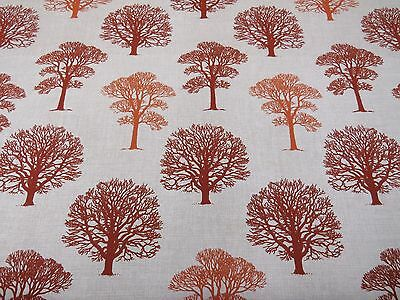 MARSON FIRS TREES GREY DESIGNER CURTAINS BLINDS CRAFT UPHOLSTERY FABRIC Crafts