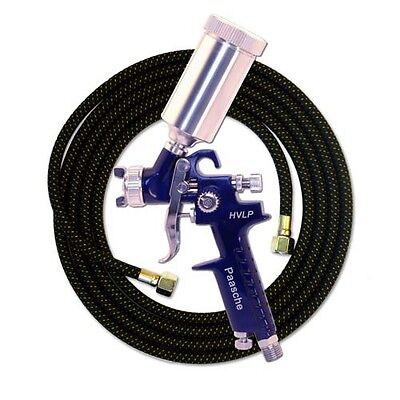 Paasche HVLP Spray Gun .8mm Head & 10' Hose - Great For Cerakote & Duracoat(NEW)