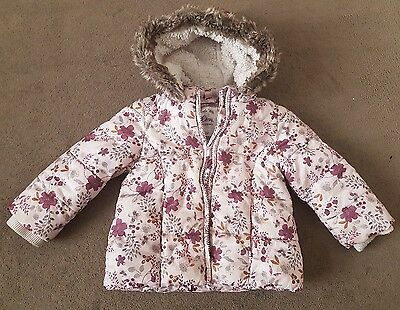 baby girls winter coat 9-12 months