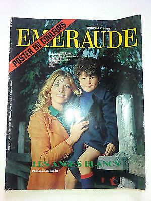 roman photo EMERAUDE  N° 15 LA MOME edith PIAF 1974 robert CHARLEBOIS SALAMMBO