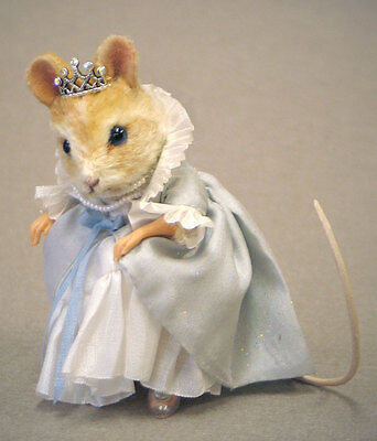 R. John Wright Cinderella Mouse Retail $375.00 Brand New in Box Fairytale Mice