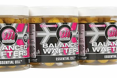 Mainline Baits Balanced Wafters 12mm ,15mm & 18mm  All Flavours