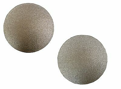 Home Decor Glitter Sparkle Set of 2 Reversible Placemats Gold/Silver