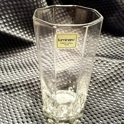 NEW IN BOX SETS OF 3 Luminarc OCTIME 9 Oz Highball Glass 12 GLASSES AVAILABILE!