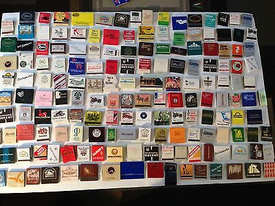 Matchbook Match Box Lot Vintage Over 175