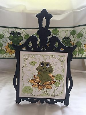 Vintage Neil The Frog Trivet From The Sears And Robuck Collection 1976
