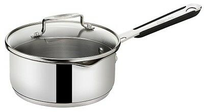 Jamie Oliver by Tefal Everyday Stainless Steel 16cm Saucepan Induction
