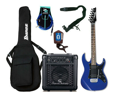 IBANEZ STARTER PACK Chitarra Elettrica Entry Level Blu / Combo / Accessori
