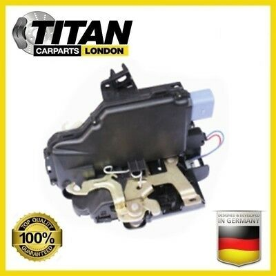 For VW Transporter Caravelle Mk V 5 Door Lock MECHANISM Front Right Side