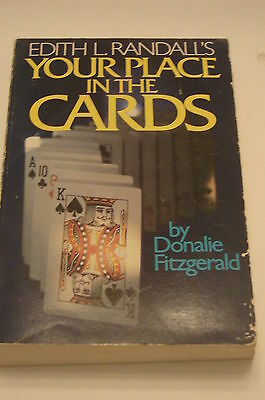 Edith L. Randall's Your Place In The Cards Donalie Fitzgerald Book - 1978