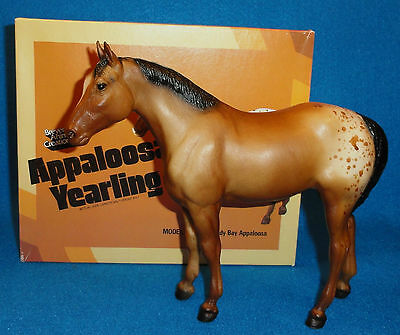 Breyer Model #103 Sandy Bay Appaloosa Quarter Horse Yearling W/picture Box