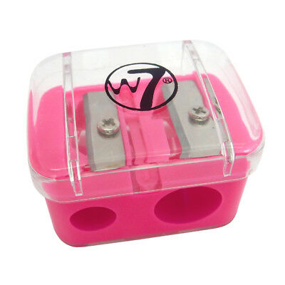 W7 Cosmetics - Duo Pencil Sharpener - Eyeliner Lipliner Pencil Makeup Bag Tool
