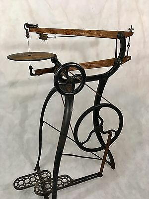 New Rogers Treadle Scroll Saw Model 1 With Blower Millers Falls