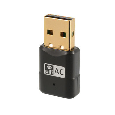 600Mbps USB WiFi Adapter Dongle 11ac Dual Band 2.4GHz 5GHz PC Network LAN AC829