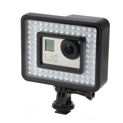 80 LED Light Panel Dimmable Video Lighting with Monopod for GoPro Hero 4 LD1041
