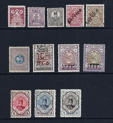 Iran/Persia   Lot of Unused Hinged postage stamps    MH