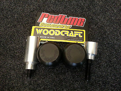 2017-2018 Yamaha R6 Frame Sliders Slider Set Woodcraft