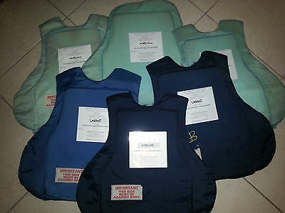 ballistic panel body armor panel sizes vary slightly IIIA medium and large NICE!