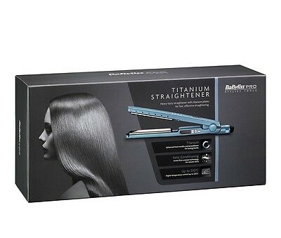 Babyliss Pro Titanium Straightener Stylist Tool Bab2091Bu  New Worldwide📦🇬🇧