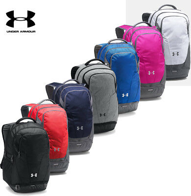 Under Armour Hustle 3 Backpack Team Bag School Bag NEW Authentic