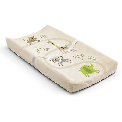 Summer Infant Ultra Plush Changing Pad Cover Safari Top Quality New Free Shiping