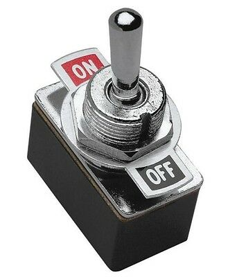 "New RadioShack SPST Toggle Switch On/Off 3A @ 125VAC 1.5A @ 250 7/16"" 275-0602"