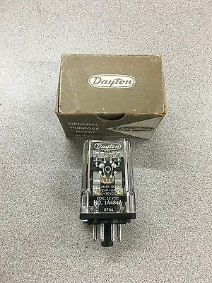 New In Box Dayton 12Vdc. Plug-In Relay 1A484A