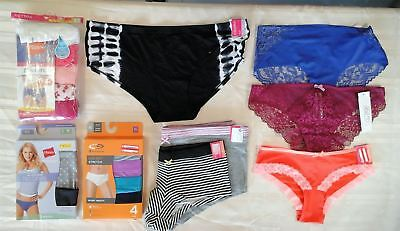 Wholesale Lot of Womens Panties Brand New Packaged and Singles