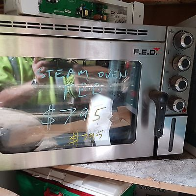 FED steam oven  240v  New