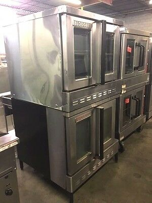 Blodgett Double Stack Full Size Convection Oven - Gas  #1281