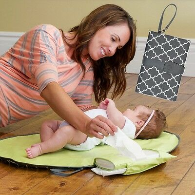 Changing Clutch Changing Station Travel Diaper portable Changing Pad Mat