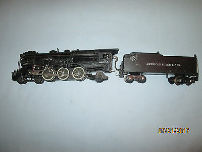 American Flyer Lines #310 PRR Locomotive and Tender. Runs Well