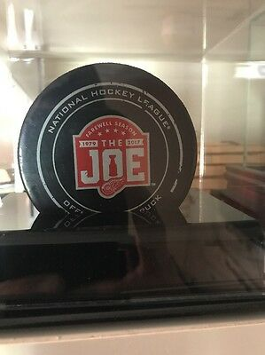 Detroit Red Wings Game Used Puck