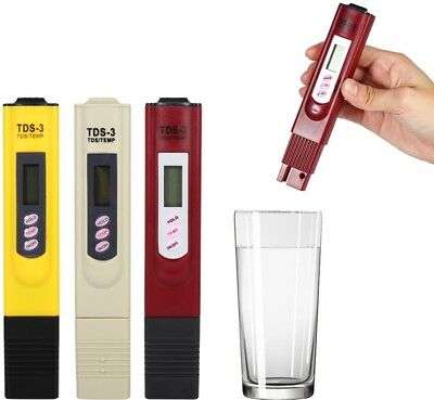 2017 Newest Digital LCD TDS Meter Water Quality Tester Testing Pen Purity PPM
