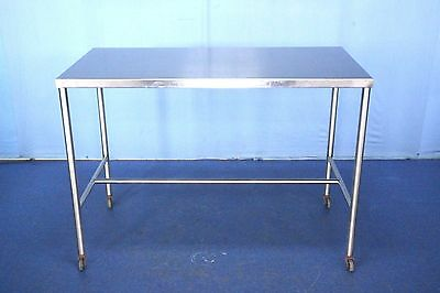 UMF Stainless Steel Medical Table, Back Table, Instrument Table with Warranty