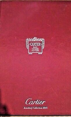 CARTIER Catalogue Jewellery Collection 2013 Book/Pictures Paris London New York