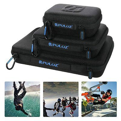 PULUZ For Go Pro Accessories Waterproof Carrying Case Portable Medium Bag YS