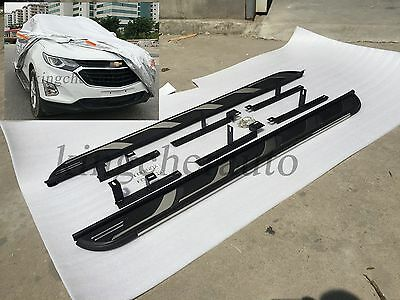 Fit Chevrolet for All New Equinox 2018 Running Board Side Step Nerf Bar trim