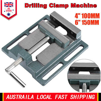 Hot 4'' 6'' Drill Press Vice Bench Clamp Woodworking Drilling Machine Hand Tool